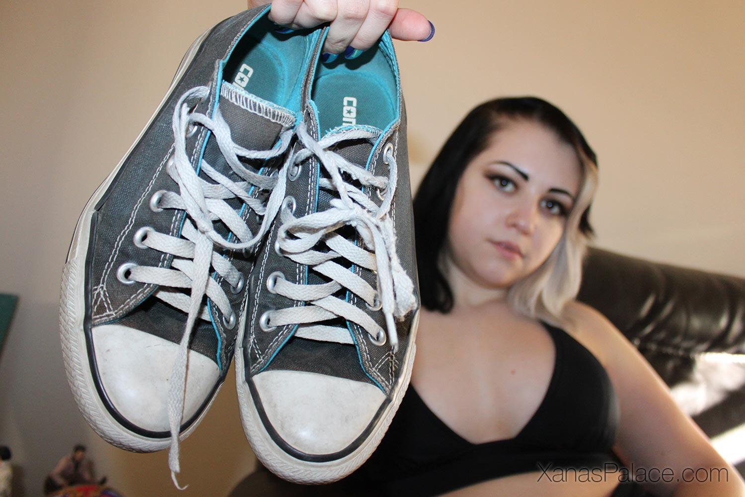 Celene's Dark Grey Chucks