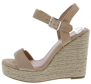 Tan MicroFiber Wedges