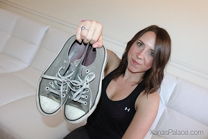 Chrissy's Grey Chucks
