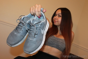 Cynthia's Grey Nike Tennis Shoes