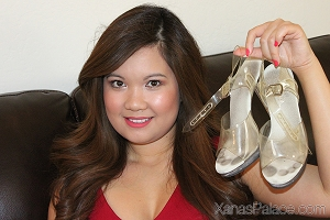 Cathi's Clear Pageant Heels