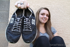 Lanay's Rugged Skechers Tennis Shoes