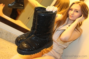 Melody's Black Boots