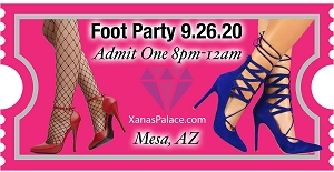 Sept 26th Foot Party!
