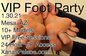 Jan 30th, 2021 Foot Party!